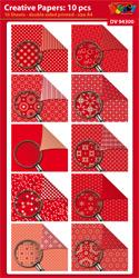DV94300 Creative papers: Dubbelzijdig patroonpapier A4