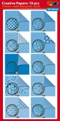 DV94320 Creative papers: Dubbelzijdig patroonpapier A4