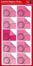DV94330 Creative papers: Dubbelzijdig patroonpapier A4