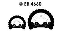 EB4660 borduursticker hoek inca groot & klein