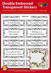 GS652102 Scrapbook stickers Engelse teksten