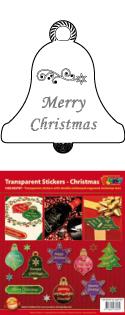 GS652707 Scrapbook stickers Christmas text