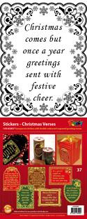 GS652837 Scrapbook stickers Engelse spreuken