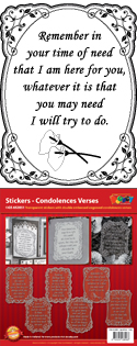 GS652851 Scrapbook stickers Engelse spreuken