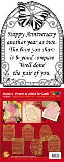 GS652871 Scrapbook stickers Engelse spreuken