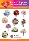 HC8528 Easy 3D-Toppers - Bruidsboeket