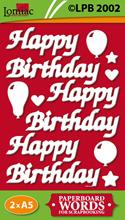 LPB2002 Happy Birthday teksten
