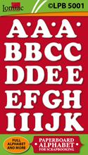 LPB5001 alfabet groot