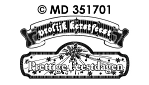 MD351701 Kerstlabels Divers Feestdagen