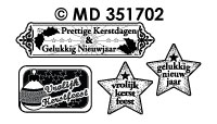 MD351702 Kerstlabels Divers Kerstfeest