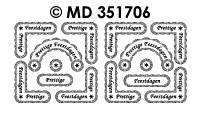 MD351706 Prettige Feestdagen rand