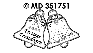 MD351751 Mini kaart Stickers: Nederlandse tekst stickers