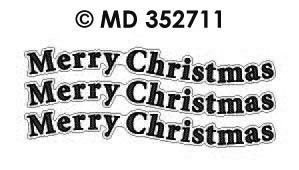MD352711 Merry Christmas text