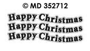 MD352712 Happy Christmas text