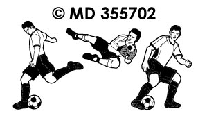 MD355702 voetbal Team 2