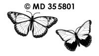 MD355801 Vlinders veel