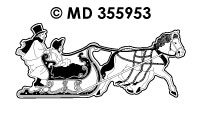 MD355953 Since Winter Horse with Slide