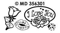 MD356301 Liefde Rozen