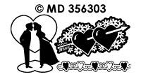 MD356303 Liefde Silhouetten
