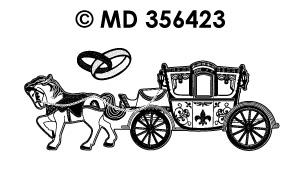 MD356423 Trouwen Koets