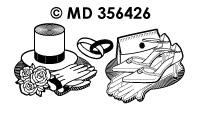 MD356426 Trouwen Items Bruid Bruidegom