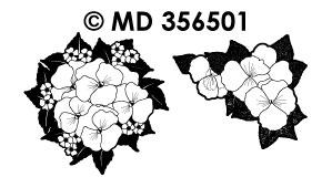 MD356501 Bos Bloemen met Violen