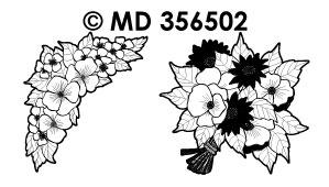 MD356502 Bos Bloemen met Margrieten