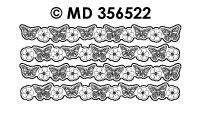MD356522 Rand Bloessem met vlinder