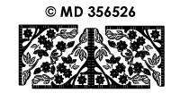 MD356526 Hoek rand Bloesem