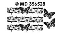 MD356528 Rand Bloessem met vlinder