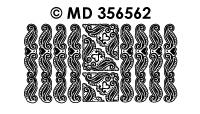 MD356562 Hoeken en rand hart (smal)