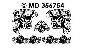 MD356754 Hoeken Barok