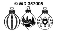 ©MD357005 > Christmas baubles figures