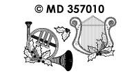 MD357010 Kerst muziek instrumenten