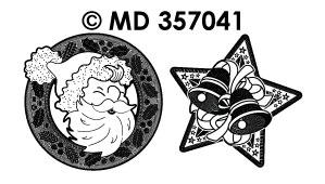 MD357041 Kerstman Bellen