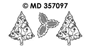 MD357097 Kerstboom