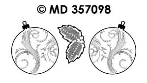 MD357098 Kerst Ballen (groot)