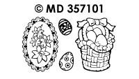 MD357101 Pasen Eieren & Bloemen