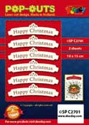 SPC2701 pop outs banner Happy Christmas