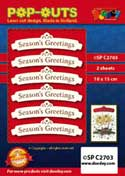 SPC2703 pop outs banner Seasons Greetings