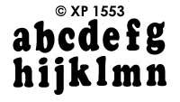 XP1553 Alfabet ABC (S)