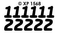 XP1568 Cijfers 123