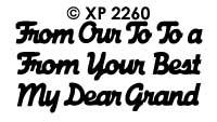 XP2260 Dear en Grand...