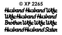 XP2265 Wife en Husband...