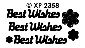 XP2358 Best Wishes