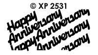 XP2531 Happy Anniversary