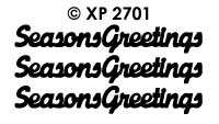 XP2701 Seasons Greeting