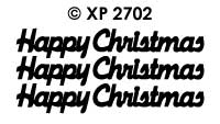XP2702 Happy Christmas