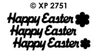 XP2751 Happy Easter