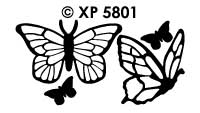 XP5801 Vlinders Realistisch